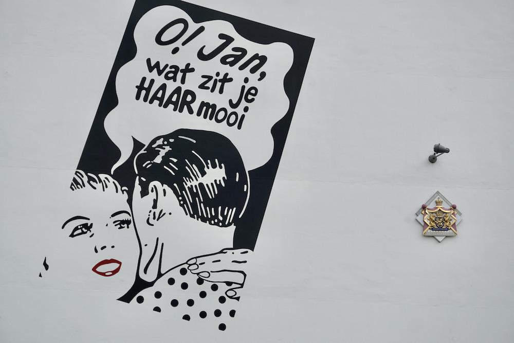 Street art Delft
