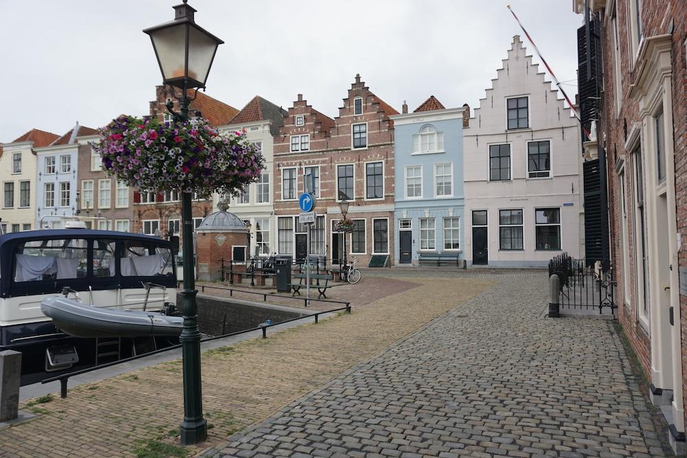 Historische huizen Stadshaven Goes