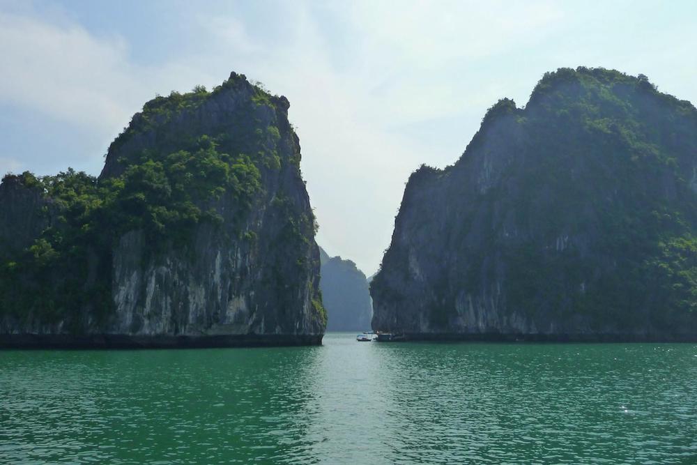 Rotsformaties Halong Bay Vietnam