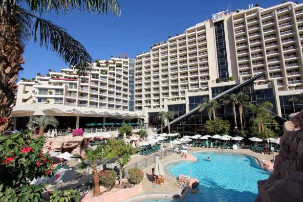 Where to Stay in Eilat: Dan Eilat Hotel