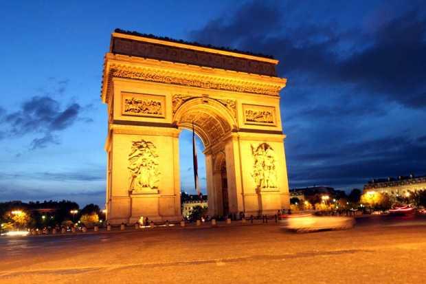 Paris in three days: Arc de Triomphe