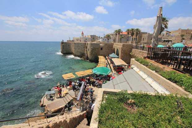 Abu Christo Restaurant, Old City of Acre, Israel