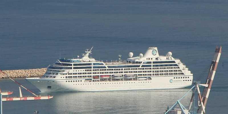Azamara Cruise Ship on Mediterranean Cruise
