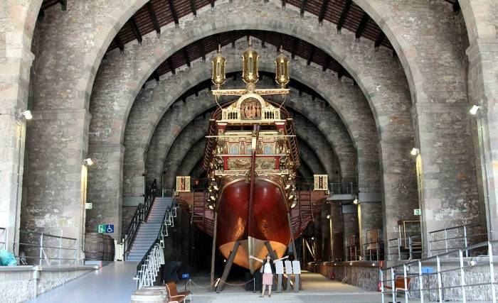 Replica of the Royal Galley of John of Austria, Maritime Museum, Barcelona