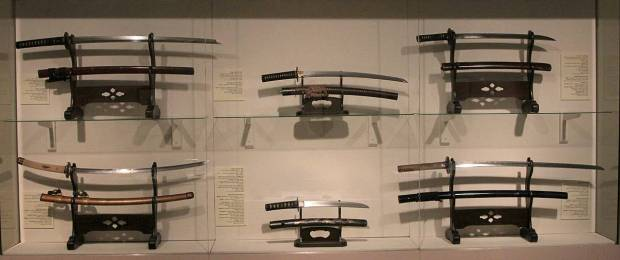 Collection of Japanese Swords, Tikotin Museum of Japanese Art, Haifa, Israel