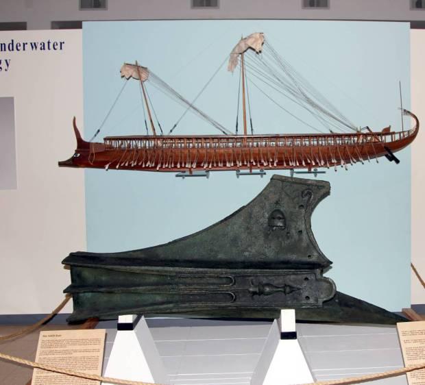 Athlit Ram, National Maritime Museum, Haifa, Israel
