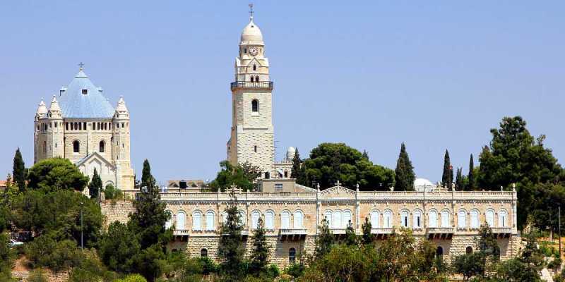 Dormition Abbey, Mount Zion, Jerusalem
