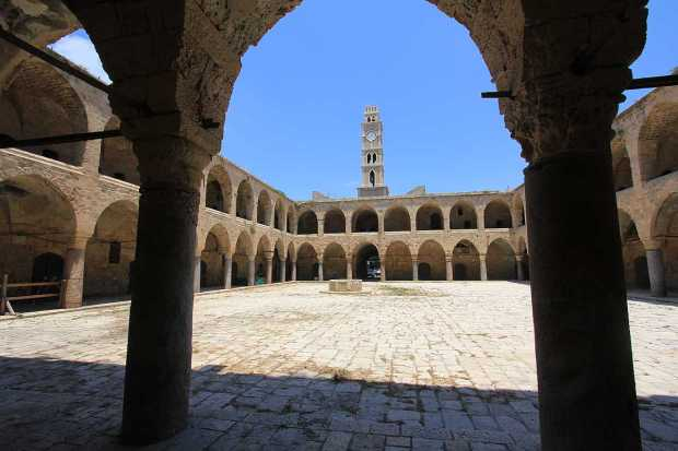 Khan al-Umdan, Old City of Acre, Israel