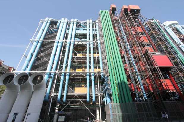 Centre Georges Pompidou (Beaubourg), Paris