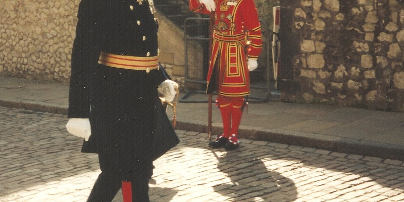 Tower of London before Queen's Visit
