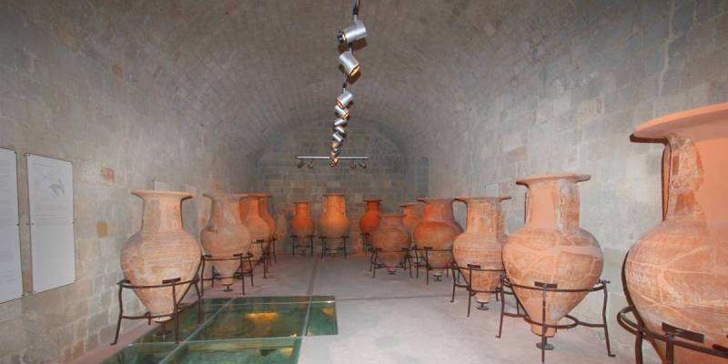 Amphoras, Rhodes, Greece