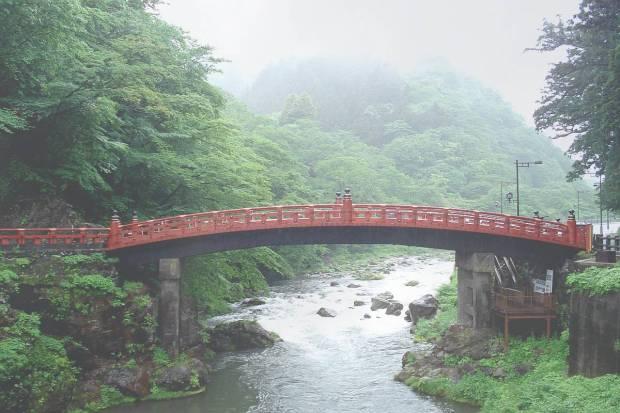 Nikko Bridge, Nikko, Japan