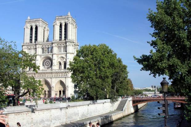 Notre Dame de Paris from the Seine