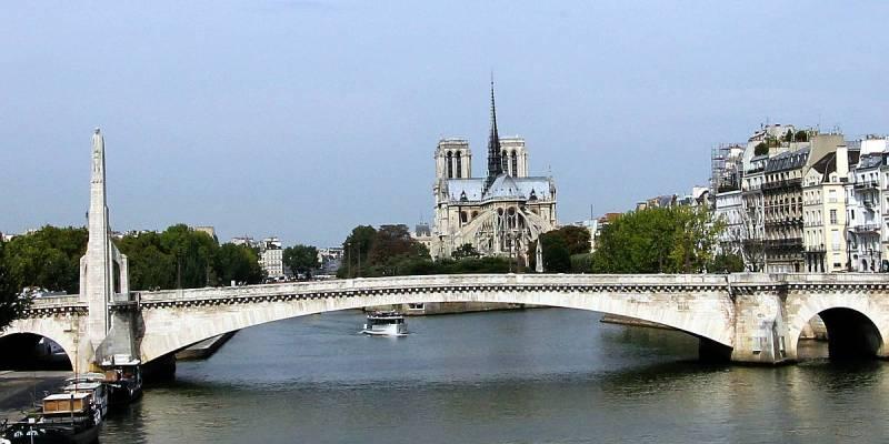 Notre Dame de Paris, View from the East