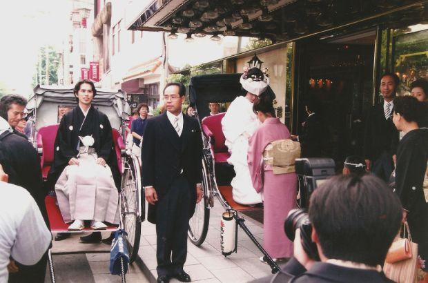Traditional Japanese Wedding in Kamakura