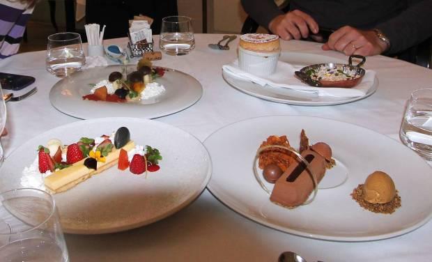 Desserts, Restaurant Catit, Chef Meir Adoni