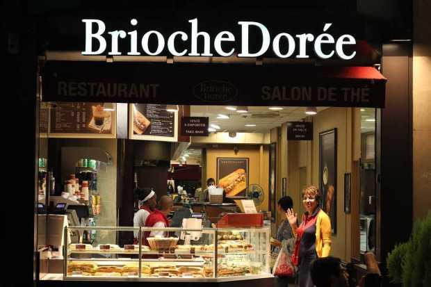 Brioche Dorée, Paris