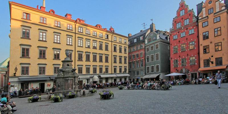 Stortorget Square, Gamla stan (The Old Town), Stockholm, Sweden