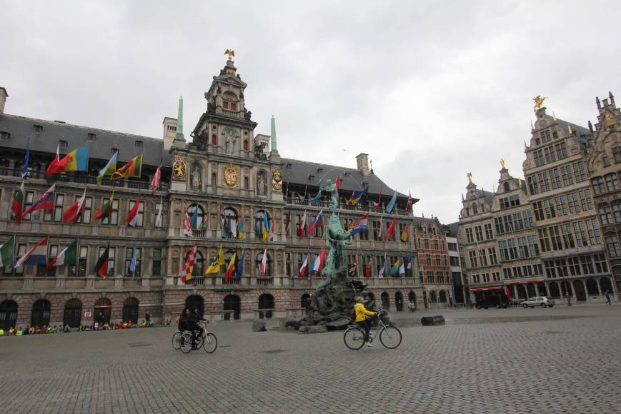 A Stroll in the Old City, Antwerp, Belgium