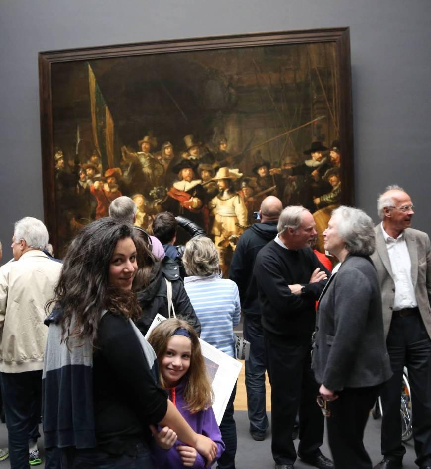 The Night Watch, Rijksmuseum, Amsterdam