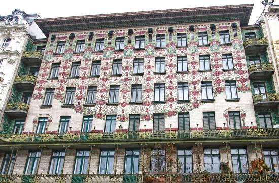Majolikahaus, Secessionist Style, Vienna, Austria