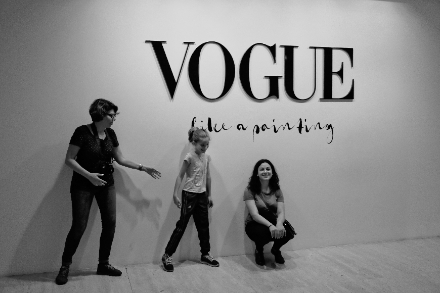 Vogue like a painting, Museo Thyssen-Bornemisza, Madrid