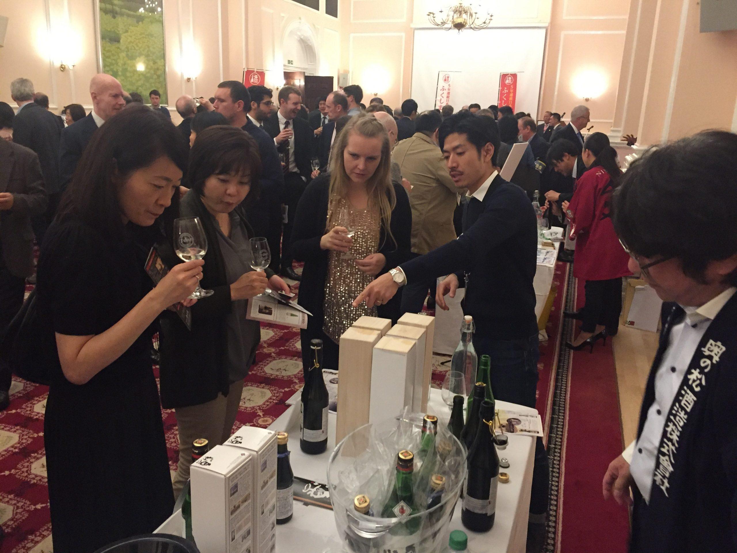 The London Fukushima Saké Fair Event