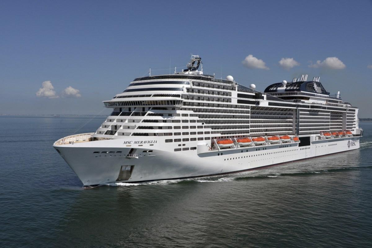 MSC Meraviglia, MSC Cruises' first stunning ship in the Meraviglia class, will arrive to New York in Fall 2019. (PRNewsfoto/MSC Cruises USA)