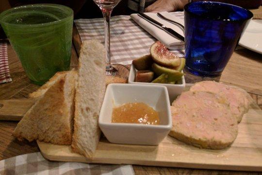 Foie gras, Gran Caffe Diemme, Padua, Italy