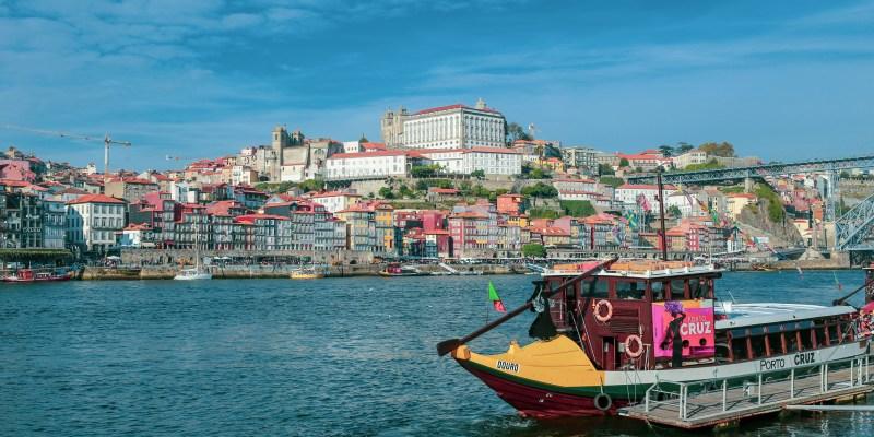 Wine Cruise along Douro River, Porto, Portugal