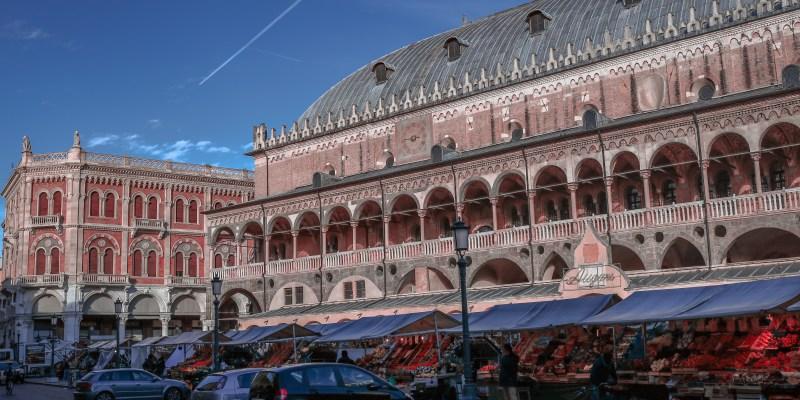 Market day in Padova, Italy