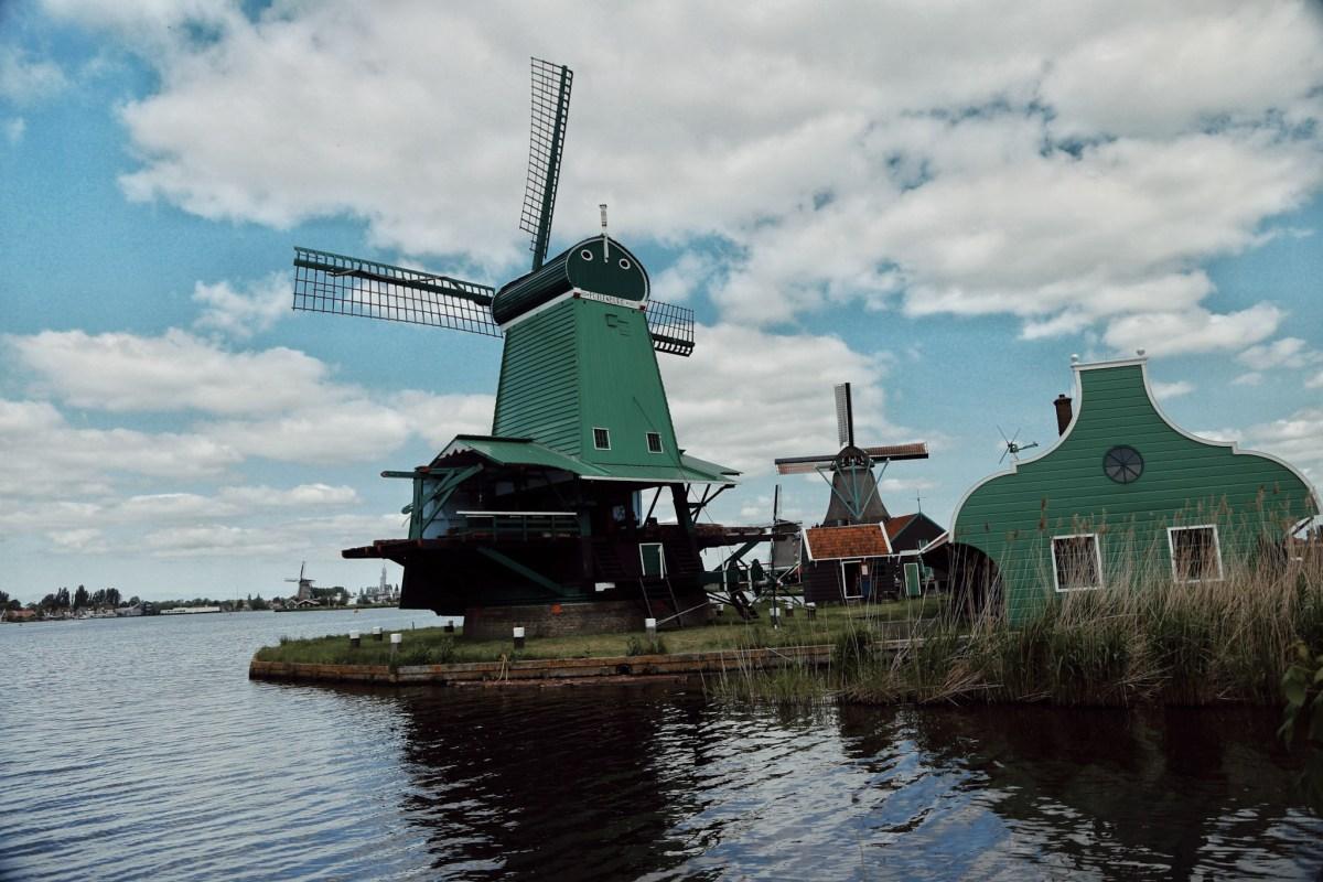Windmills, Zaanse Schans, Netherlands