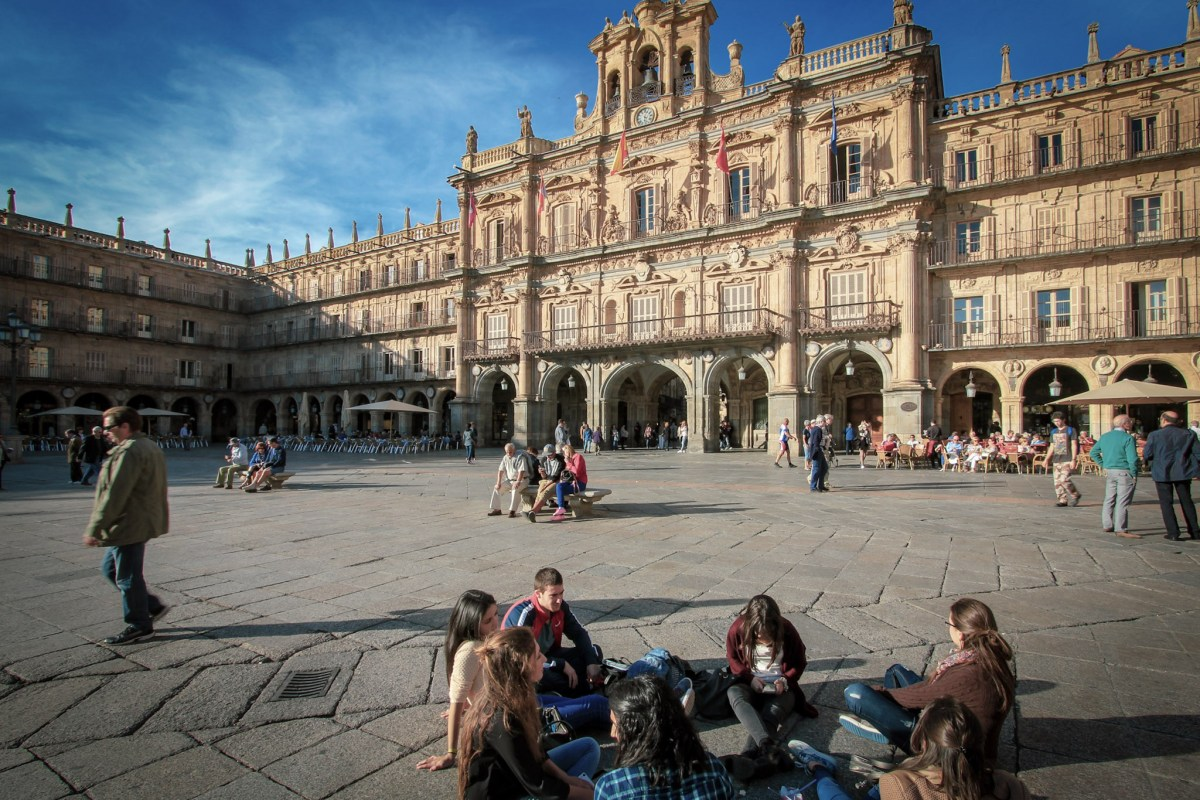 Salamanca, city of students