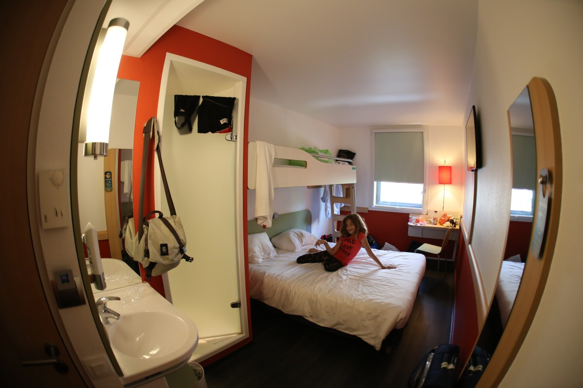 Typical Ibis Budget Hotel Triple Room
