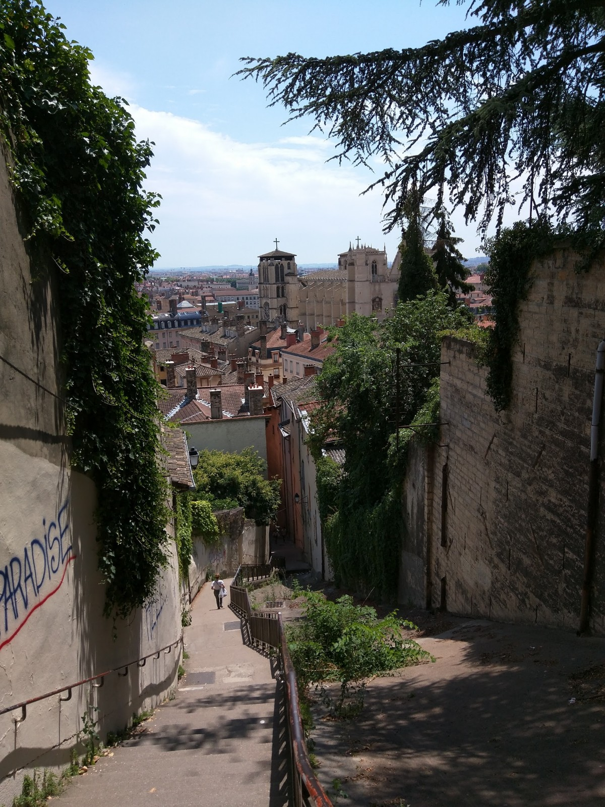 Views of Lyon, France