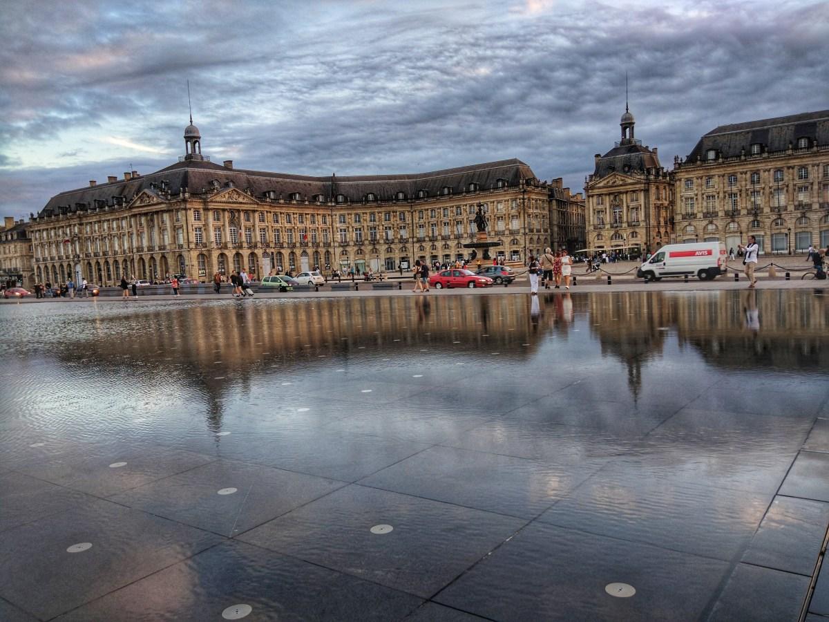 Miroir des Quais in Bordeaux