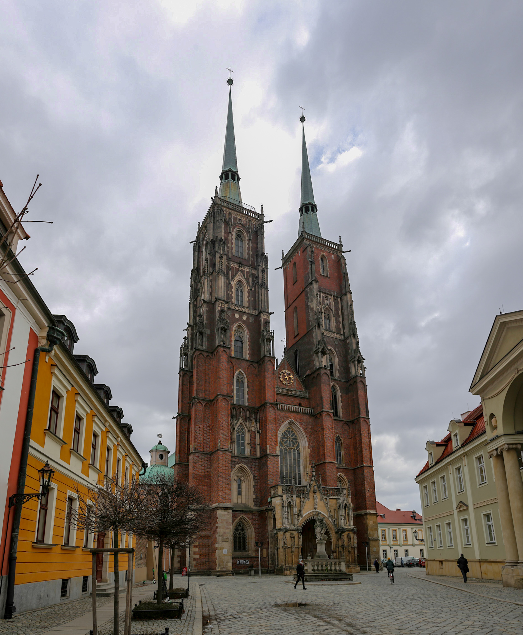 The Cathedral of St. John the Baptist in Wrocław