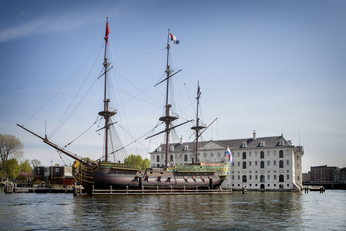 A new look for the National Maritime Museum  (Het Scheepvaartmuseum) in Amsterdam