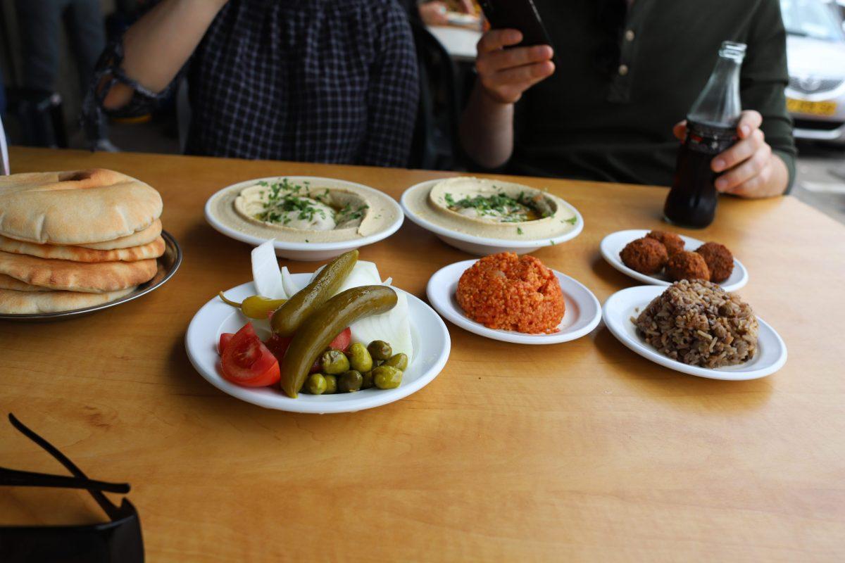 Street food, Haifa