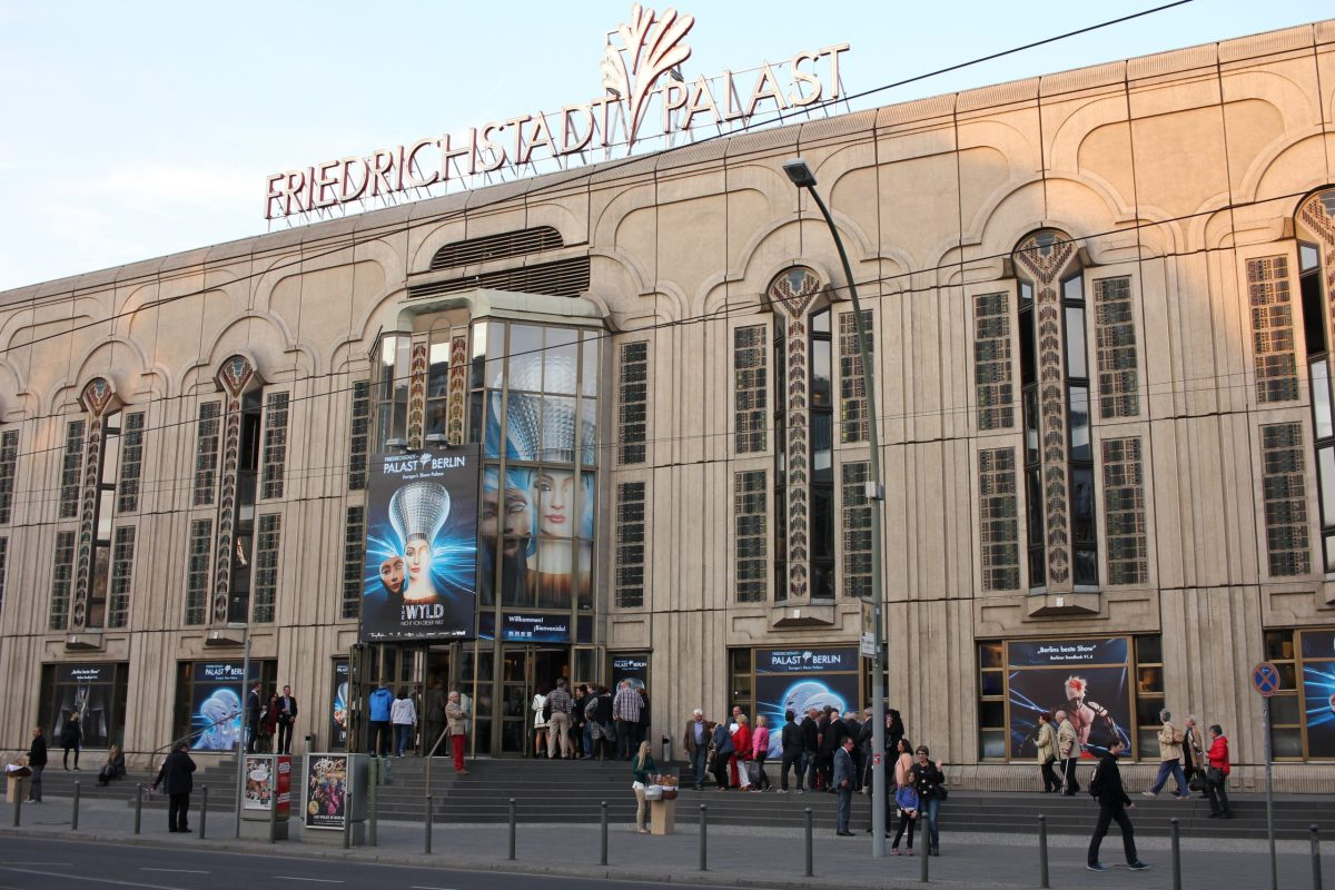Friedrichstadt-Palast is now the most visited theatre in Berlin