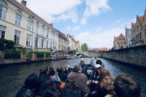 First Electric Tourist Boats In Bruges