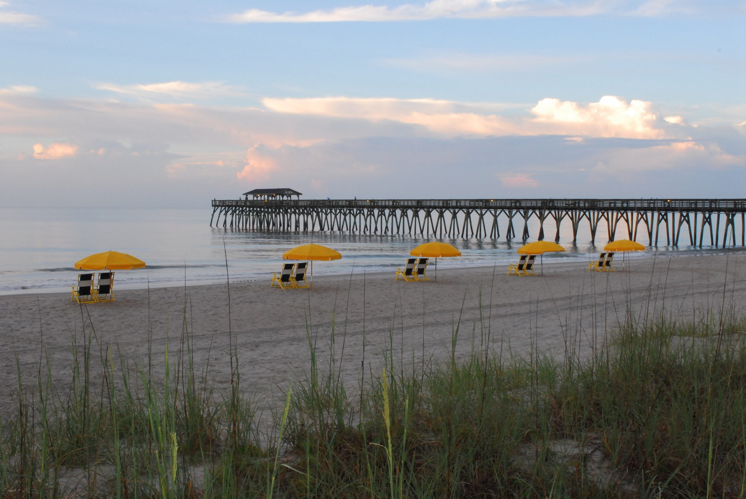 Escape the cold and forget about winter as you enjoy a getaway along the 60-miles of beautiful beaches in Myrtle Beach, South Carolina.