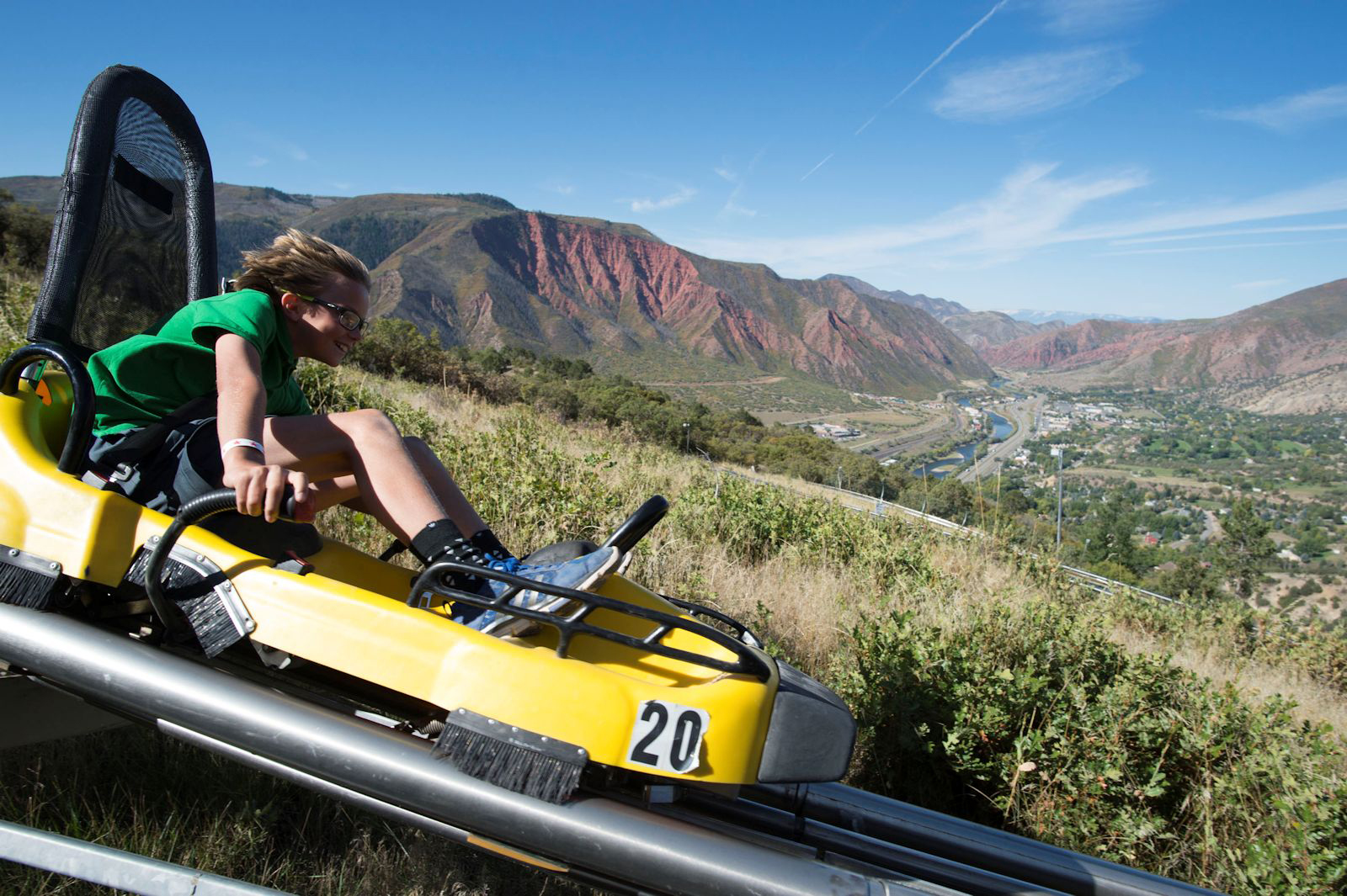 Alpine Coaster at Glenwood Caverns Adventure Park