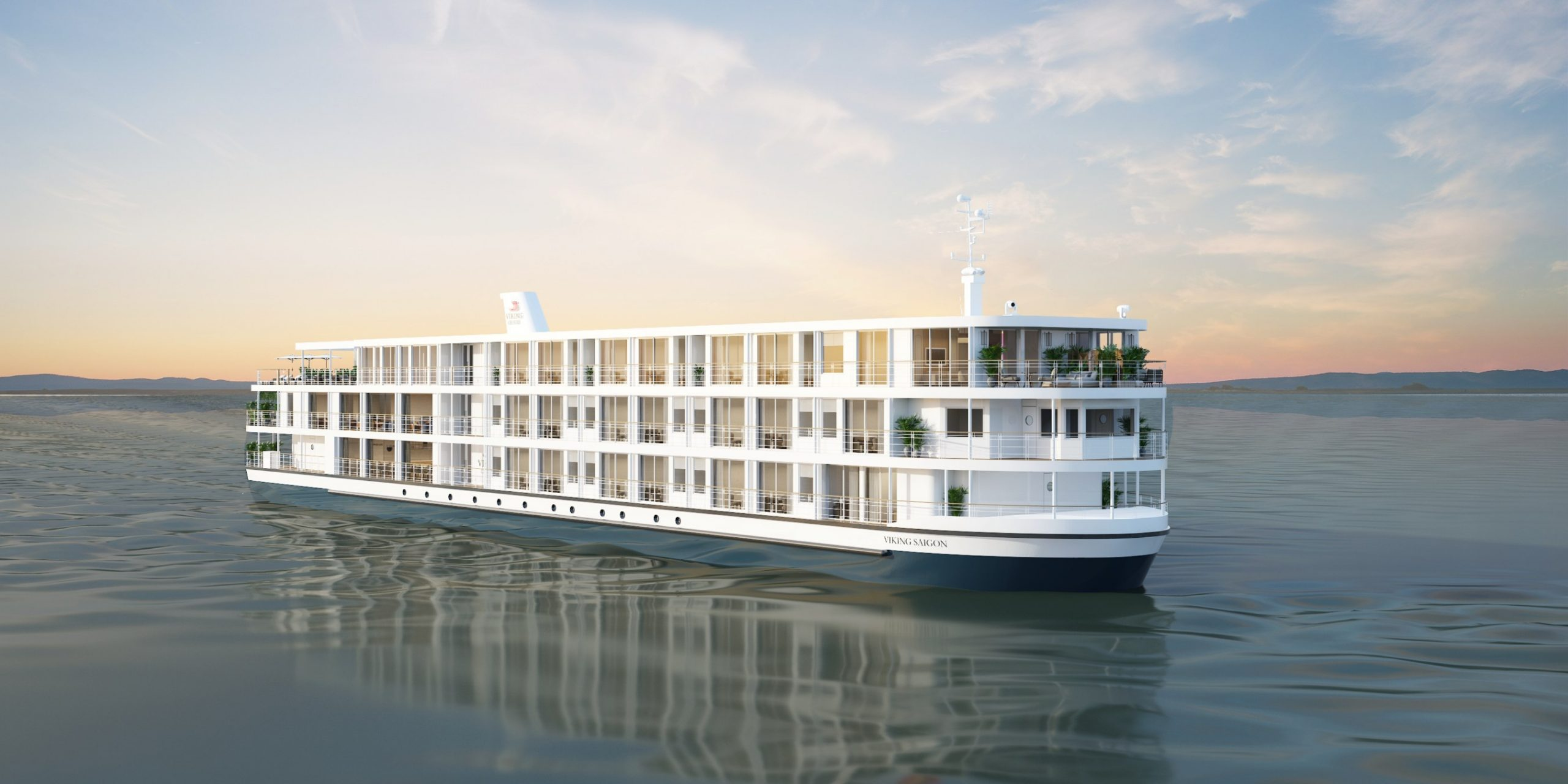 Debuting in summer 2021, the 80-guest Viking Saigon will sail Viking's Magnificent Mekong cruisetour. Guests on the three-deck Viking Saigon will enjoy a Spa & Fitness Center, Infinity Pool and open-air Sky Bar on the Upper Deck. For more information, visit www.viking.com.