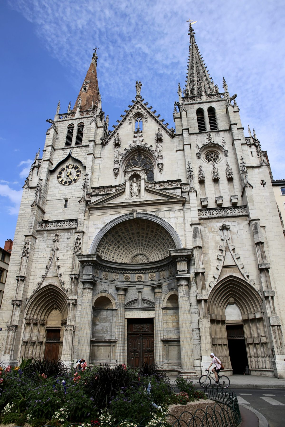 The Church of Saint-Nizier, Lyon, France