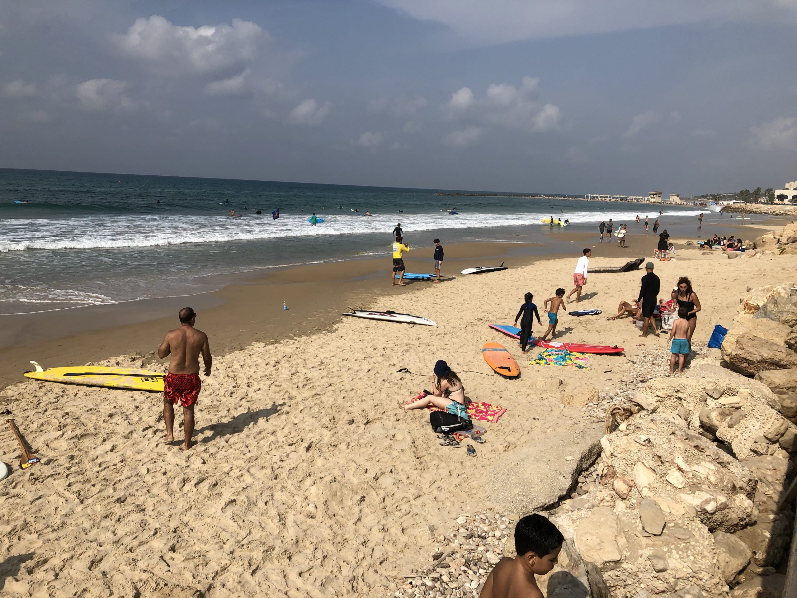 Israeli Beaches Reopening After Lockdown