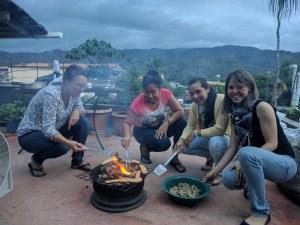Barbecue in Honduras