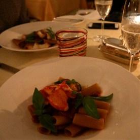 Lobster Pasta @ The Grand Hotel Tremezzo