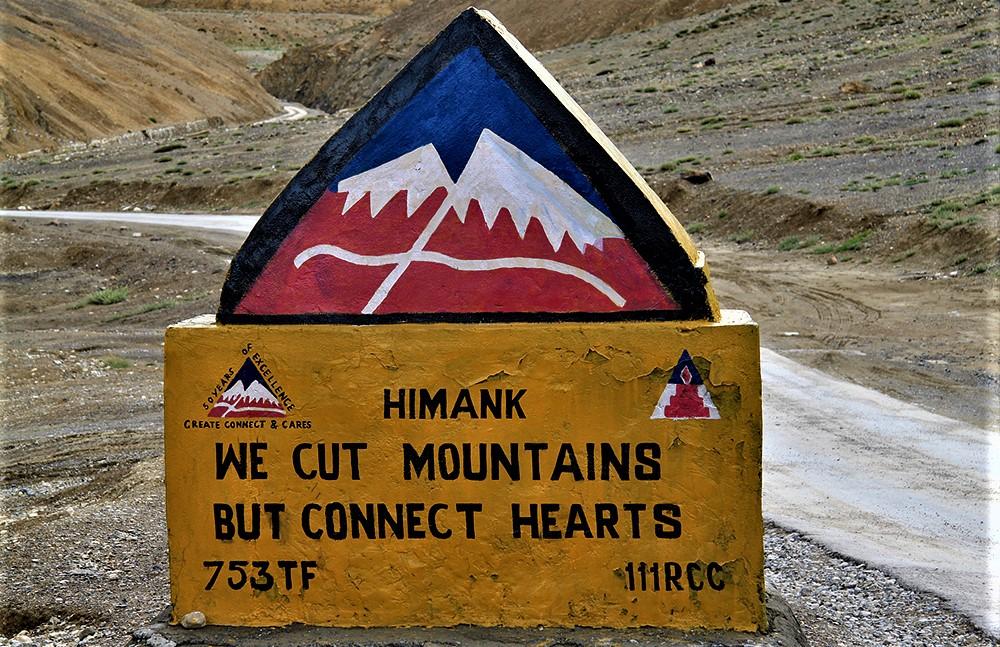 BRO road signs Road Trip to Leh Ladakh from Delhi