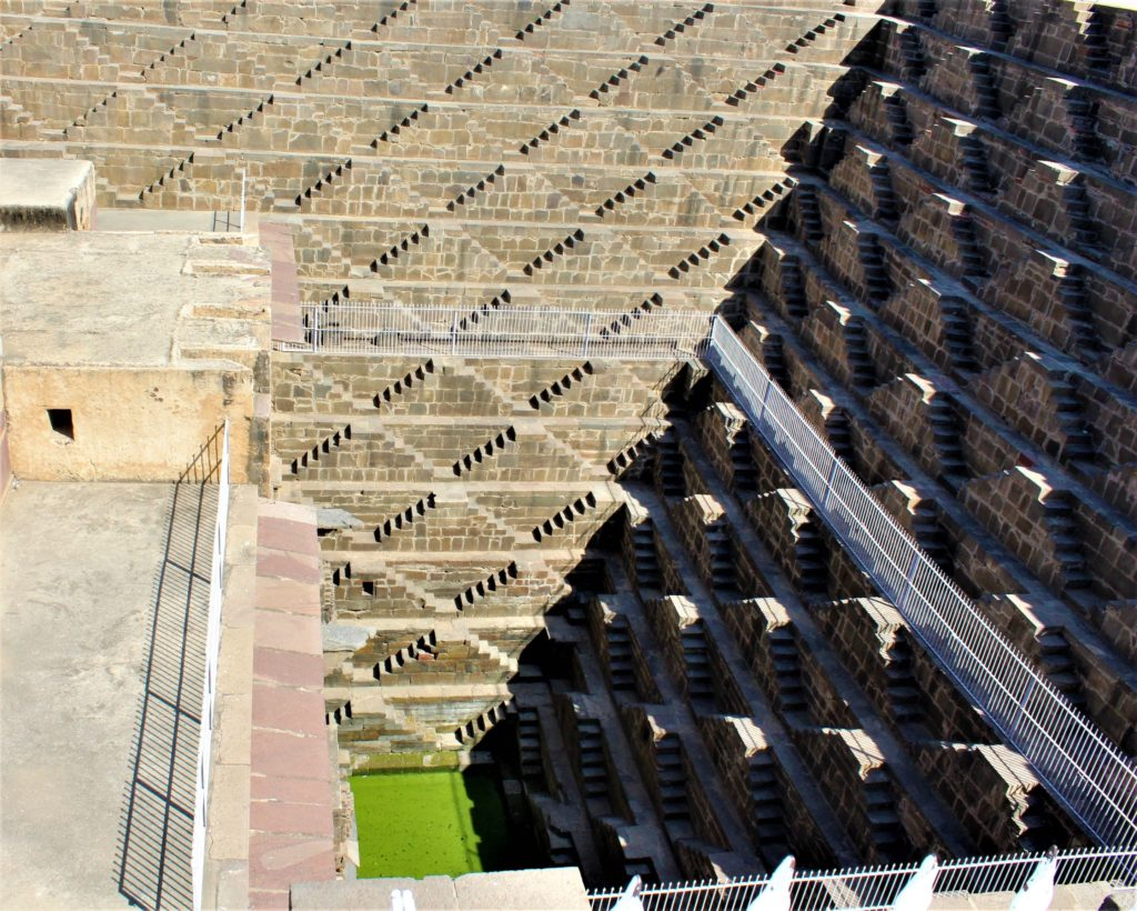 Chand Baori Stepwell in Abhaneri